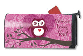 Who Loves You Valentine Mailwraps Mailbox Cover