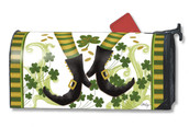 Irish Jig St. Patrick's Day Mailwraps Mailbox Cover