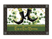 Irish Jig doormat with tray