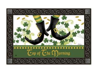 Irish Jig doormat with tray