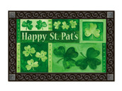 Shamrock Collage Doormat by MatMates