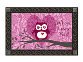 Who Loves You Valentine Doormat by MatMates