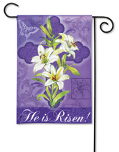 "Easter Lily Breeze Art Garden Flag - 12.5"" x 18"""