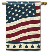 "Liberty Patriotic House Flag - 28"" x 40"""