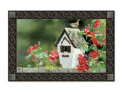 Rose Cottage Wrens Doormat by MatMates