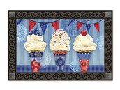 Scoops of Summer door mat with tray