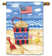 "Shining Sea House Flag - 28"" x 40"""