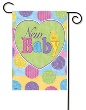 New baby flag for boy or girl
