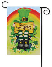 Happy St. Pat's Garden Flag by Toland