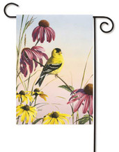 Toland Goldfinch Garden Flag