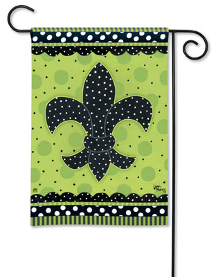 Fleur de Lis Garden Flag by Breeze Art
