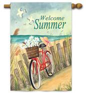Toland summer decorative flag