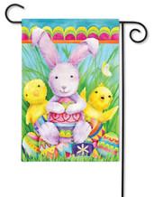 Easter decorative garden flag