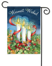 Decorative Christmas garden flag