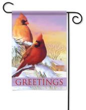 Cardinals garden flag