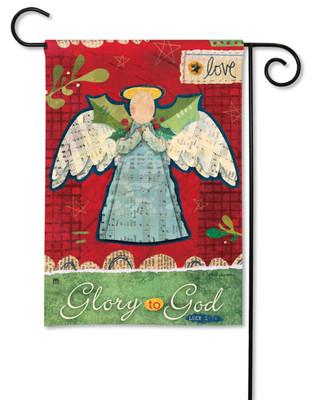 Angel garden flag