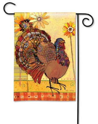 Tom Turkey Garden Flag