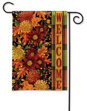 Autumn garden flag