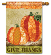 Thanksgiving house flag