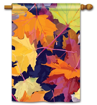 Fall house flag