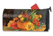 Fall mailbox cover