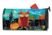 Halloween mailbox cover