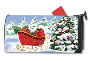 Christmas mailbox cover