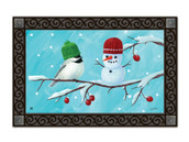 Winter doormat with tray. Tray sold separately.