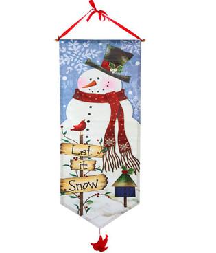 Snowman Door Banner