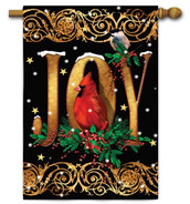 Decorative Christmas house flag