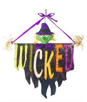 Wicked Witch Halloween Door Greeter