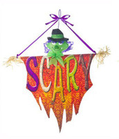 Scary Witch Halloween Door Banner