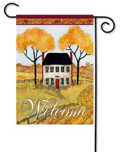 Toland autumn garden flag