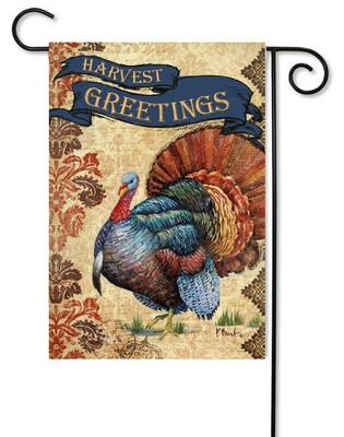 Toland Thanksgiving garden flag