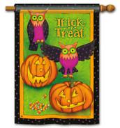 Halloween house flag