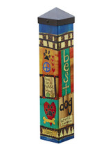 "Art Pole - 20"" tall"