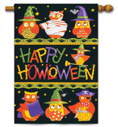 Outdoor decorative Halloween house flag