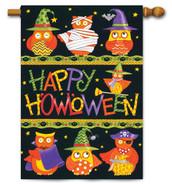 Outdoor decorative Halloween house flag