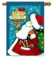 Santa house flag by Toland