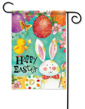 Easter outdoor garden flag