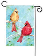 Winter garden flag by Premier Flags