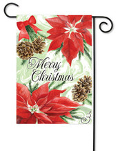 Christmas garden flag by Premier