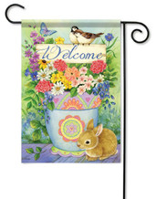 Decorative garden flag