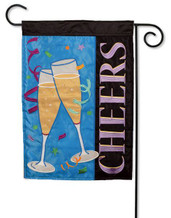 Party celebration garden flag