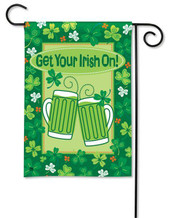 BreezeArt St. Patrick's Day Garden Flag