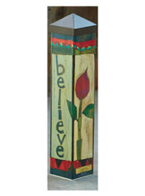 Believe Peace Pole - Stephanie Burgess