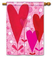 BreezeArt Valentine House Flag