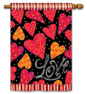 BreezeArt Valentine's Day House Flag