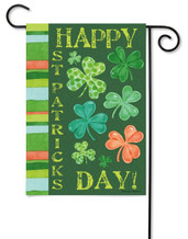 St. Patrick's Day Outdoor GardenFlag