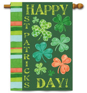 St. Patrick's Day Outdoor House Flag